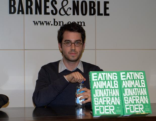 Jonathan Safran Foer, Eating Animals &amp; Ali Hafiz, I Quit Eating Meat