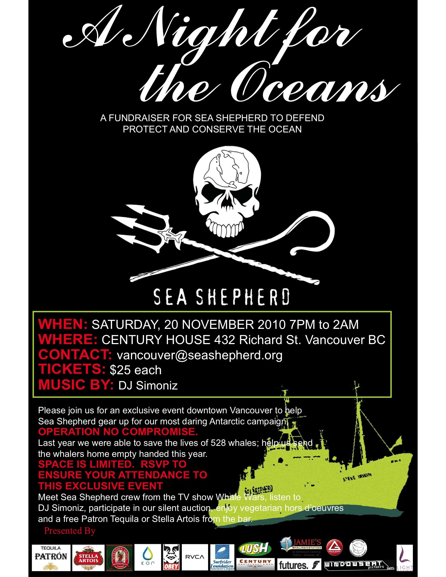 Antoine Lum, Sea Shepherd Conservation Society & Tarah Millen, Cove Guardian