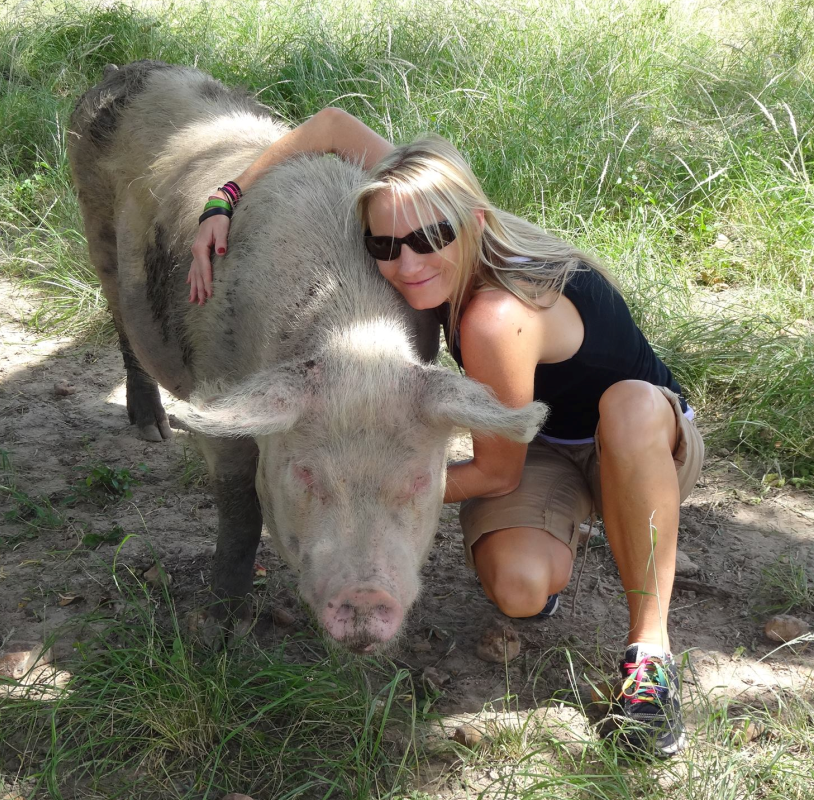Celebrating Vegan Mothers, and Lindsay Wolf, Former Undercover Animal Cruelty Investigator